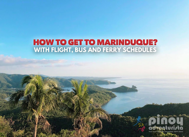 How to Get to Marinduque from Manila with Flight, Bus and Ferry Schedules