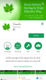Grenify berfungsi untuk melegakan Ram smartphone anda