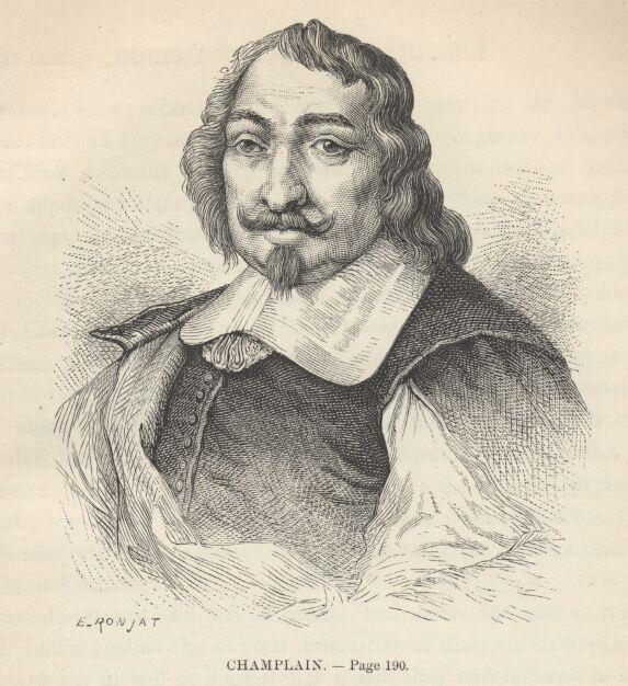 Portrait de Samuel de Champlain