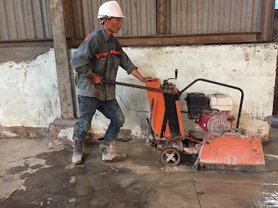 Khoan cắt bê tông tại huyện Vị Thủy