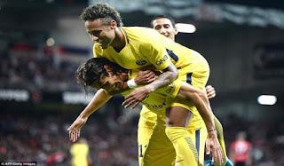 Pujian Alves Untuk Neymar