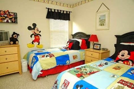Dormitorios para ni os tema mickey mouse dormitorios for Dormitorios tematicos