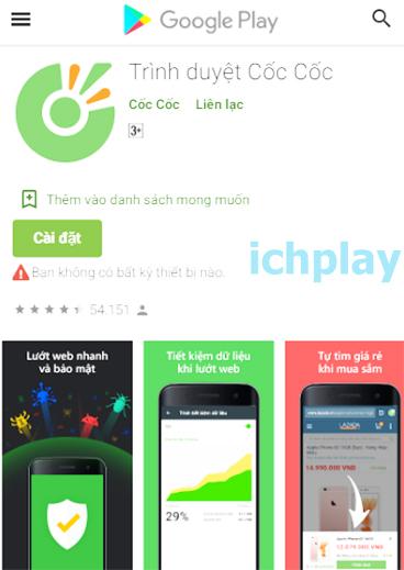 Tải Cốc Cốc về điện thoại Android miễn phí b
