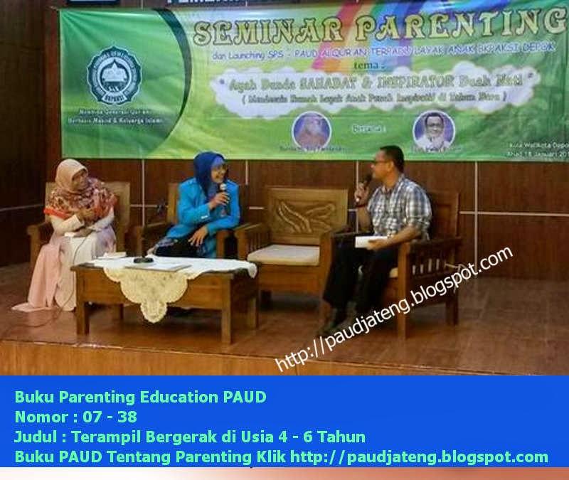Buku PAUD Parenting Perkembangan Anak Usia 4-6 Tahun
