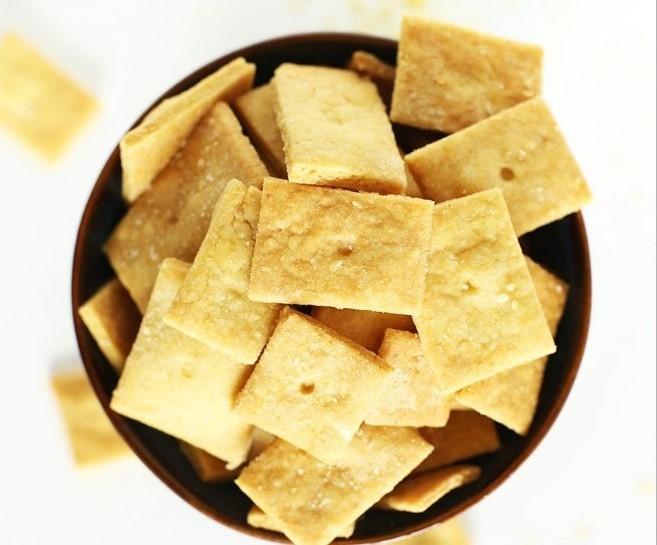 Vegan Cheez Its #vegetarian #snack
