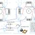 Single Phase 4 Pole Induction Motor Winding Diagram