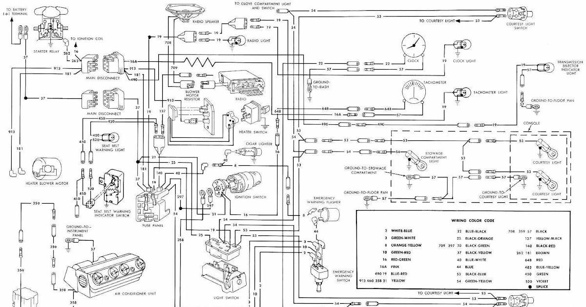1966 ford engine wiring diagram