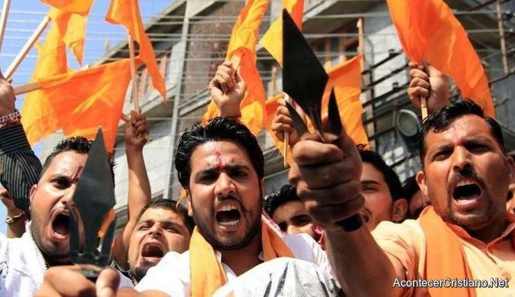 Grupo de hindúes radicales