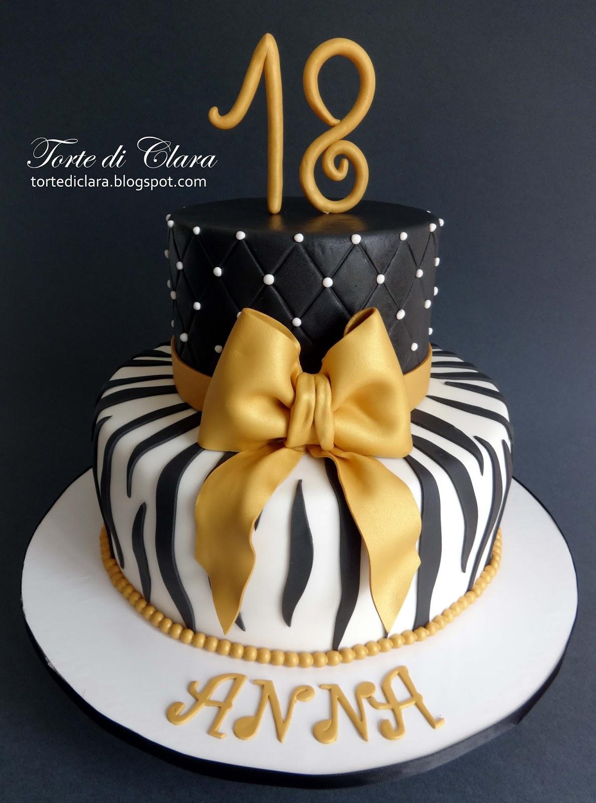 Immagini torte di compleanno per 18 anni for Torte per 18 anni maschile
