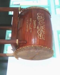 Jasa Pembuatan Bedug Profesional ukuran 130 cm x 180 cm