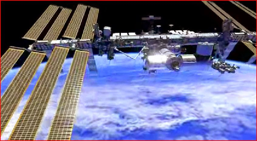 ISS spacewalk animation animatedfilmreviews.filminspector.com