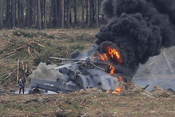 سقوط طائرة عسكرية يخلف مقتل قائدها غرب البلاد