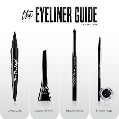 Cara Memilih Eyeliner Maybelline yang Cocok untuk Bentuk Mata Kamu