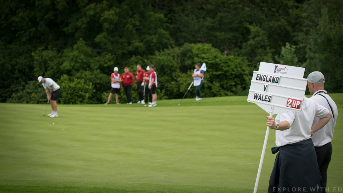 Team England V Team Wales, The Celebrity Cup at The Celtic Manor