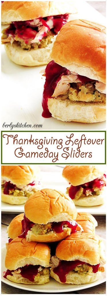 Thanksgiving Leftover Gameday Sliders
