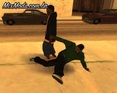 mod Animações de Kung Fu melhoradas