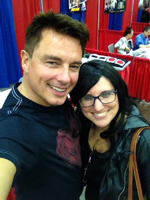 John Barrowman and I at Cincinnati Comic Expo (2016)