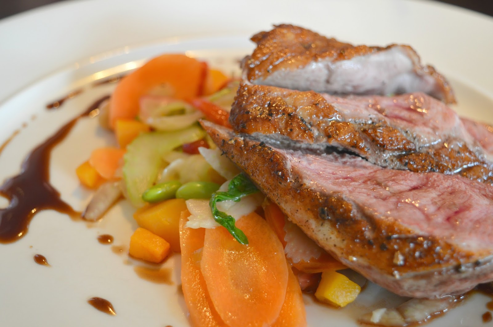 Autumn Favourites at Gusto, Newcastle Roast Duck Breast