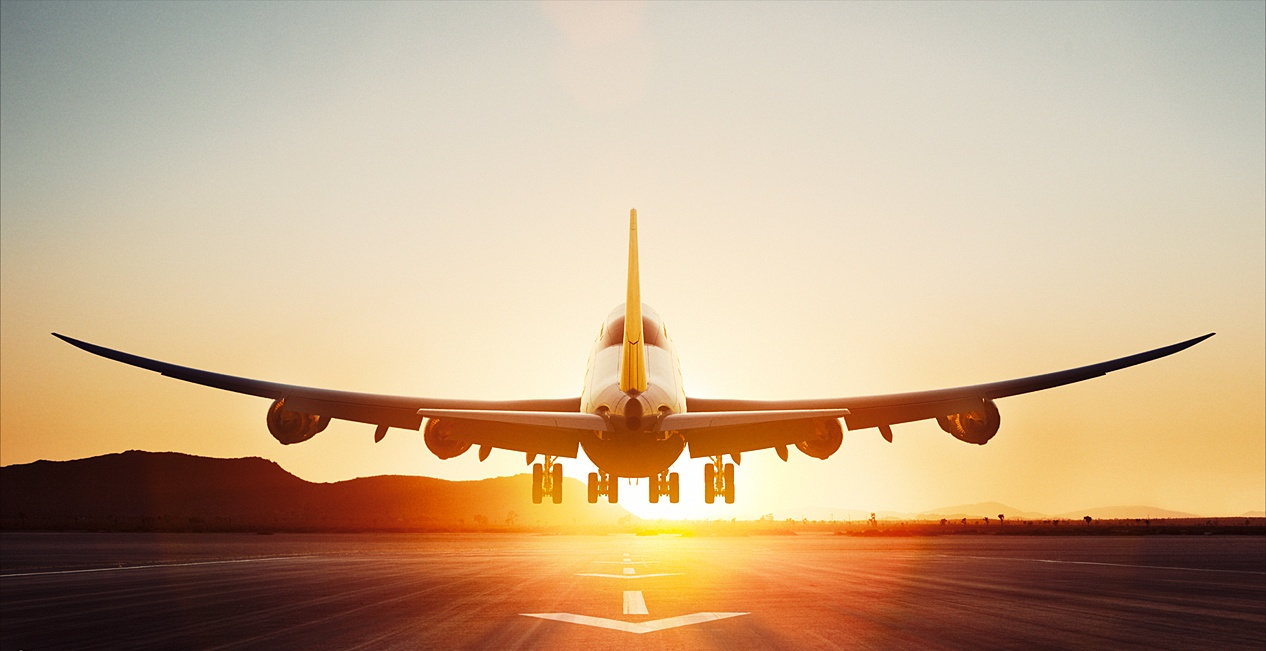 Boeing 747 8 During Takeoff In Sunset Aircraft Wallpaper 3103