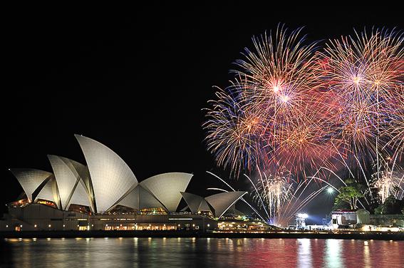Sidney. 5 destinos soñados para viajar en nochevieja