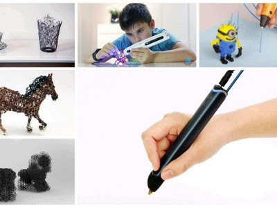 Features Of 3D Pens Is Plastic