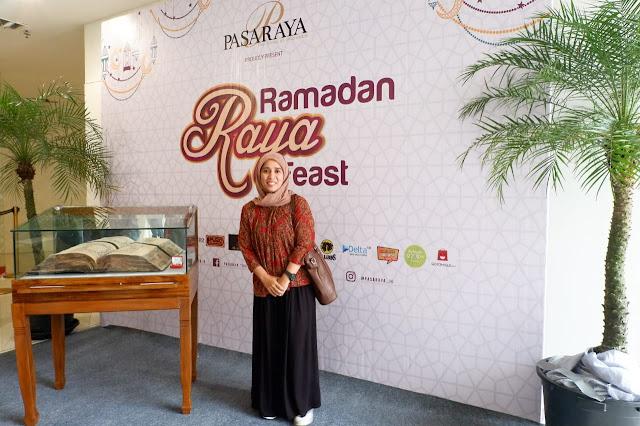 rayakan ramadan di pasaraya blok m