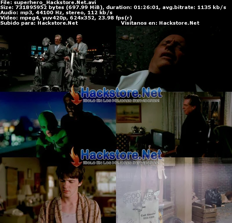 Captura Superhero Movie (2008) Dvdrip Latino