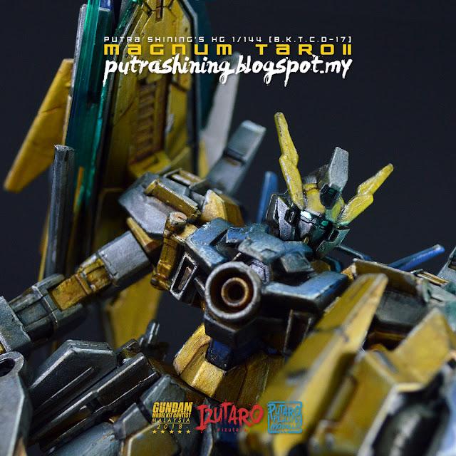 HGBD 1/144 Gundam AGE II Magnum Custom Build Citadel Paints by Putra Shining
