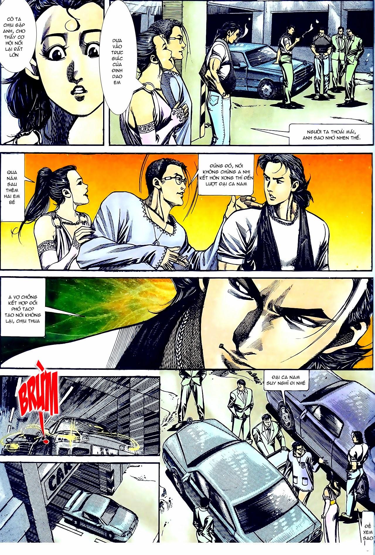 Người Trong Giang Hồ chapter 135: cạm bẫy rình rập trang 11