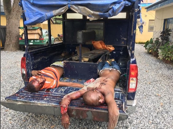 Graphic: Armed robbers shot dead by Police in Abuja
