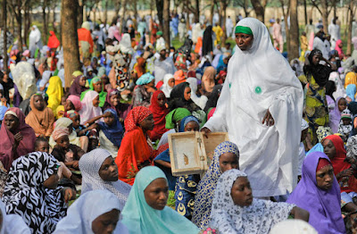 Nigerian Muslims Mark Eid-El-Kabir