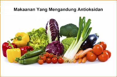 Makanan yang mengandung antioksidan tinggi dari buah dan sayur