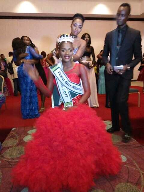 GUM ADOO EMERGES FINEST GIRL NIGERIA 2017
