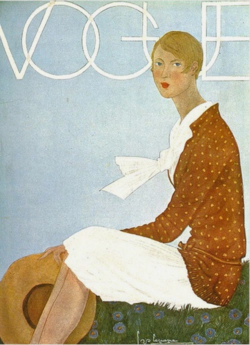 Vintage Vogue Illustrated Covers