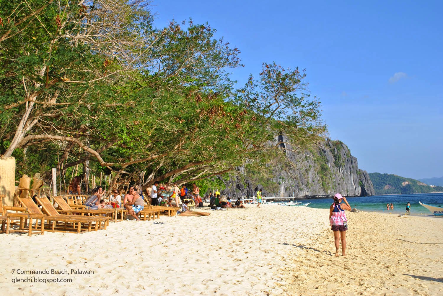 Seven Commando Beach El Nido