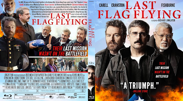 Last Flag Flying Bluray Cover