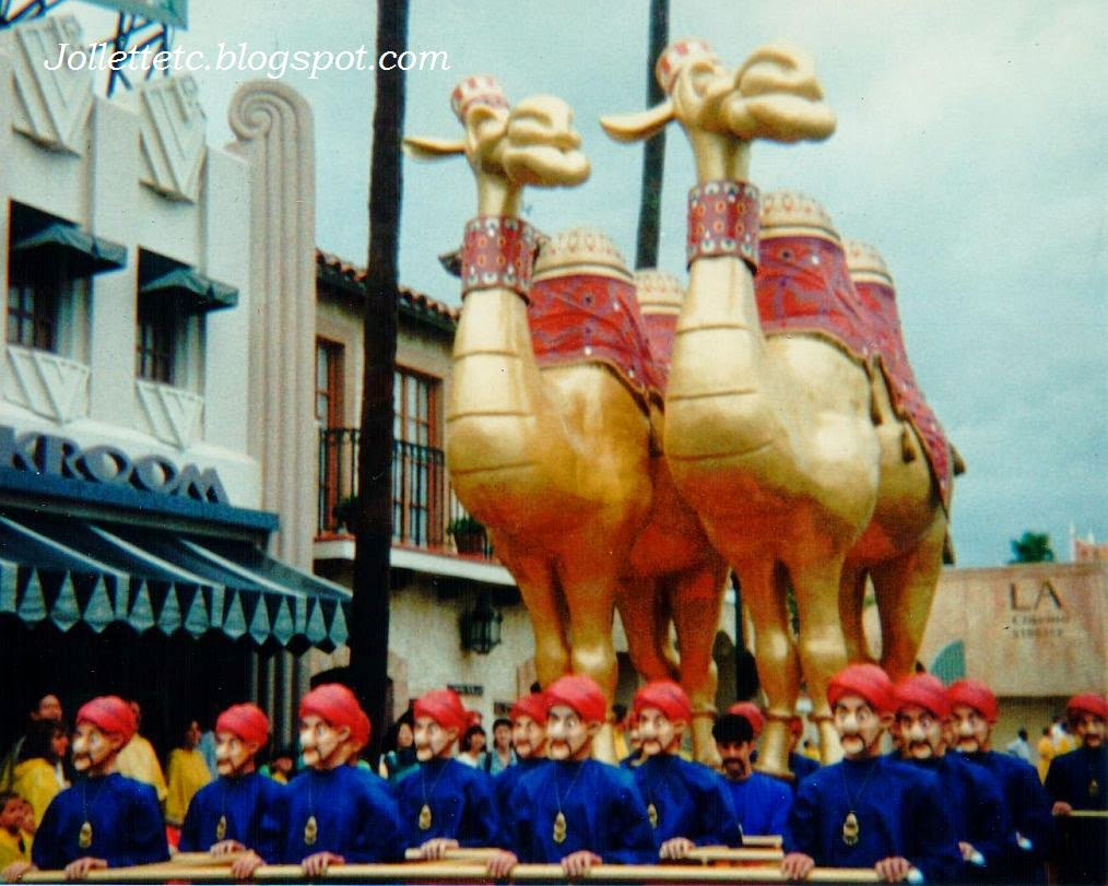 Aladdin's Royal Caravan Disney World 1995