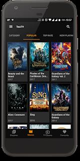 تطبيق TeaTV لمشاهدة أحدث الأفلام والمسلسلات