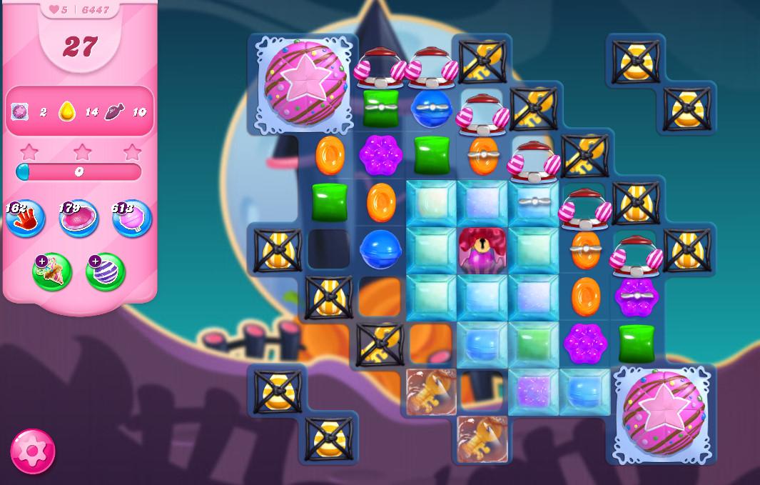 Candy Crush Saga level 64417