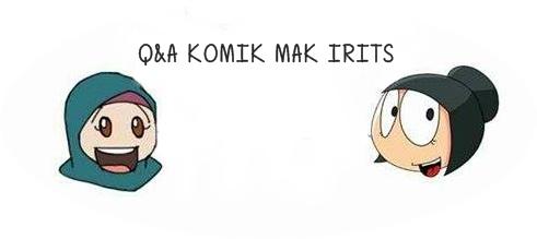 Question and Answer Komik Mak Irits