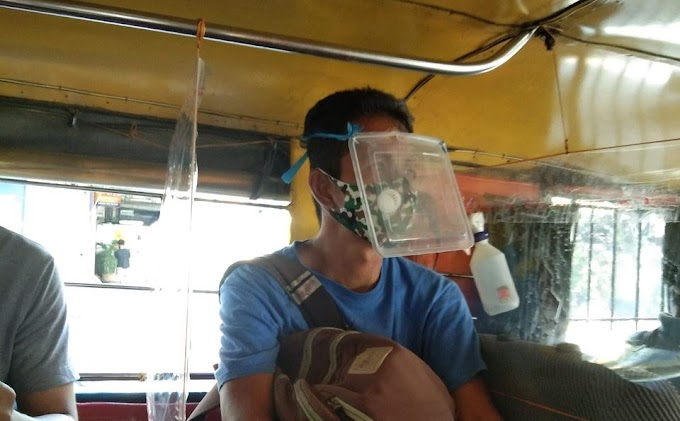 Desperate man wears DIY face-shield to survive the pandemic | City Servants