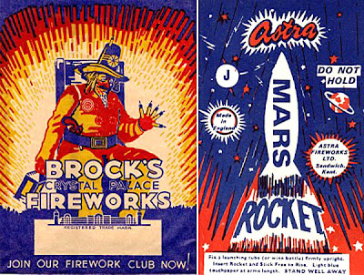 Vintage Fireworks Posters And Labels For The Fourth Of