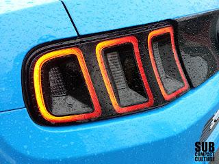 Ford Mustang taillight