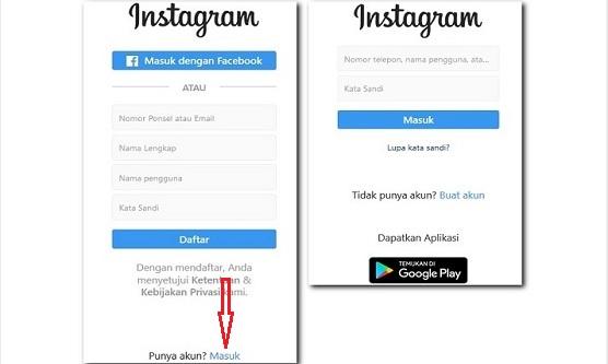 Cara Login Atau Masuk Dan Buka Instagram Tanpa Aplikasi Ig Carahpc