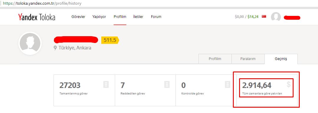 Yandex para nasıl nakit olarak alınır