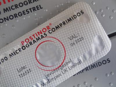 Eficácia da pílula do dia seguinte postinor® 1500 microgramas (levonorgestrel 1500)