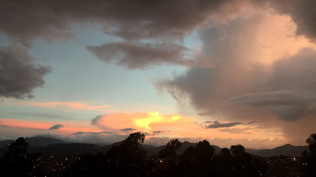 Storm and Sunset 4