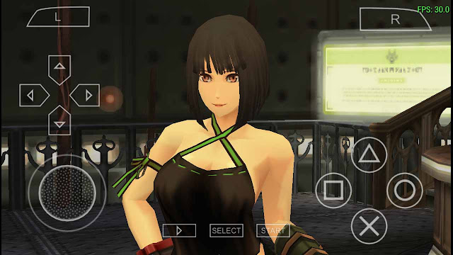 Settingan Emulator ppsspp God Eater Burst
