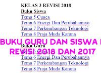 Buku Guru dan Siswa K13 SD revisi 2018 Semester 2