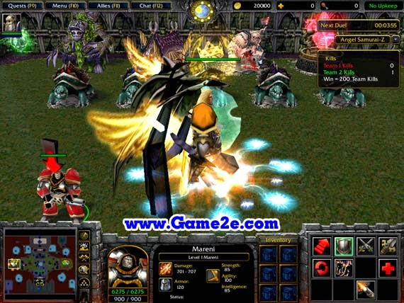 Warcraft 3 Anime Characters : Angel samurai z v w map download game f